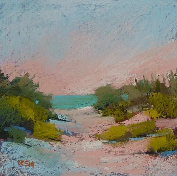 landscape painting cape beach