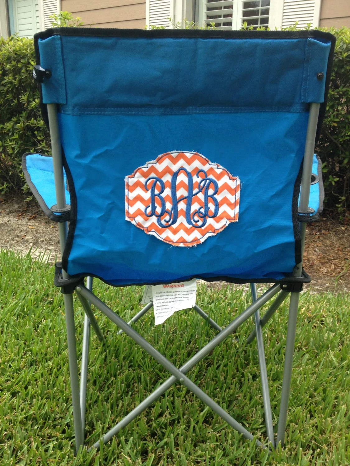 Tailgate Chairs Diy Tailgate Chair Patch Megan By Rileyreigh On Etsy