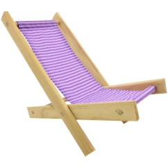 Wood Beach Chairs Best Chair After Spinal Fusion Toy Wooden Folding Lavender And By Toytentsandchairs
