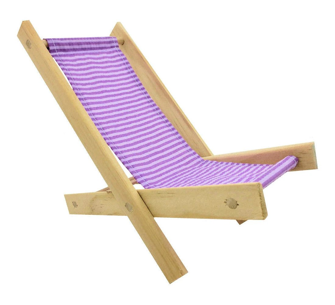 Folding Wood Beach Chair Toy Wooden Folding Beach Chair Lavender And By Toytentsandchairs