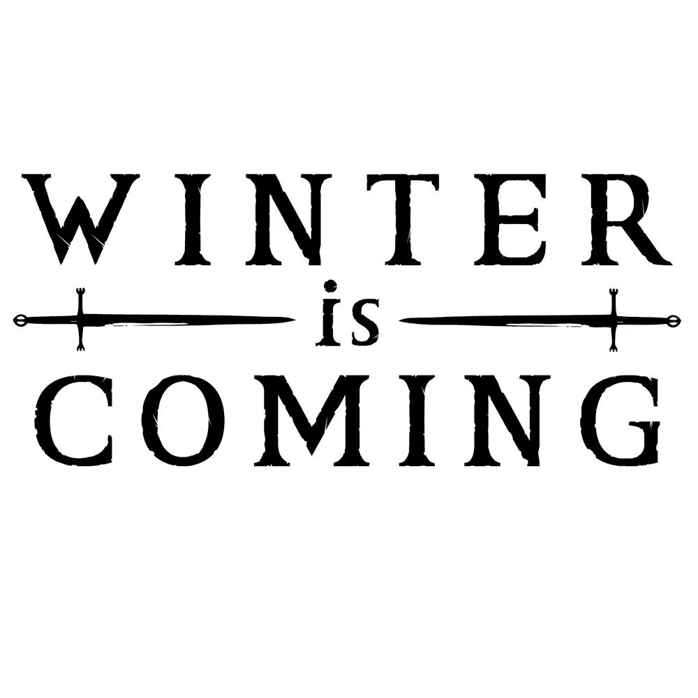 Winter is Coming Decal Free Shipping