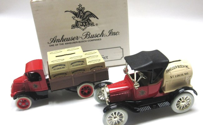 Toy Truck Car Anheuser Busch 1991 Ertl Banks By