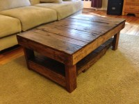 Rustic Handmade Coffee Table by wolvesandbears on Etsy