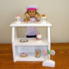 American Girl High Chair X Rocker Doll Furniture Bakery Stand By