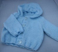 Preemie baby hoody hand knit cute baby clothes Gifts for babys