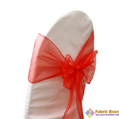 Coral Sashes For Wedding Chairs Ergonomic Chair Under 400 Organza Sash Bows Weddings Parties Banquets