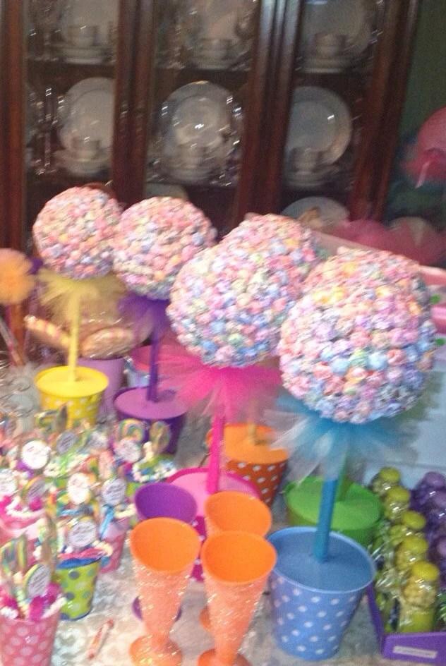 Items Similar To Candyland Decorations Dum Dum Tree
