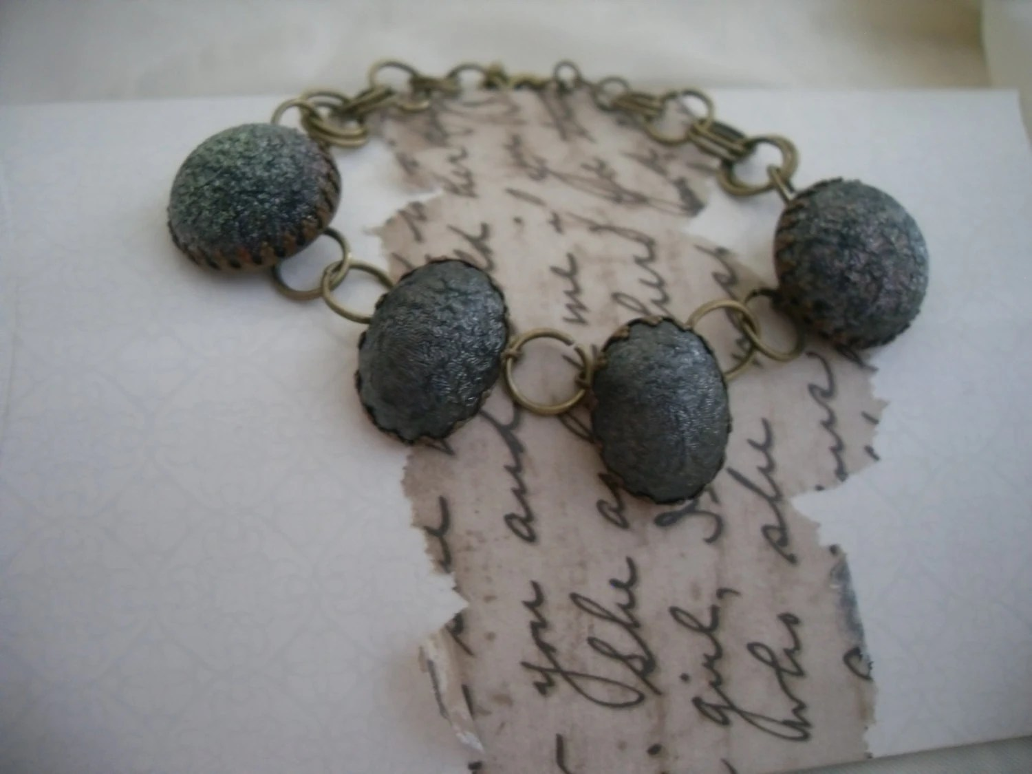 Vintage Recrafted Earring Bracelet