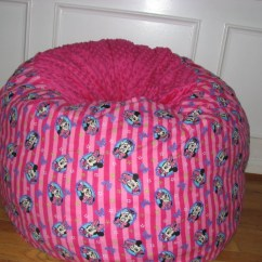 Bean Bag Chair Covers 1 2 Recliner Minnie Mouse Lovesac Cover By Soupeduppbkids