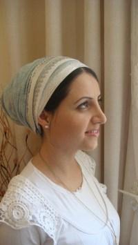scarf israel headcovers tichel lace women apron fancy israeli