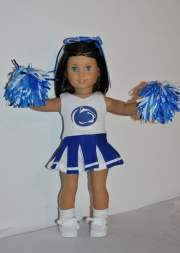 penn state cheerleader outfit