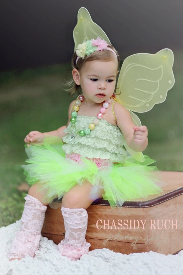 Fairy Halloween Costume Tutu Cute Garden Fairy by