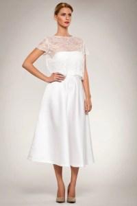 Skirt Full Flared Satin Calf Length Skirt with Fitted Waist