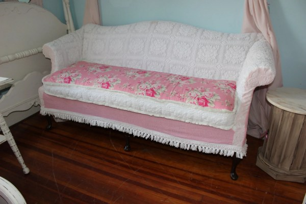 Patchwork Discussed Shabby Chic Sofa Couch Slipcover