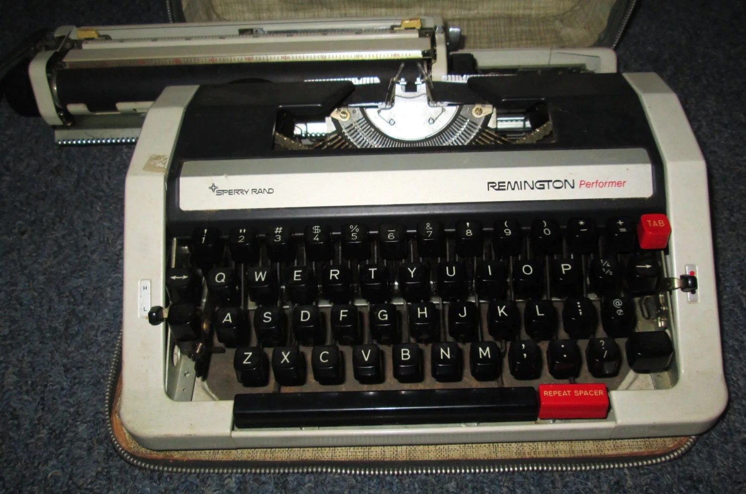 manual typewriter diagram belling electric cooker wiring 1960 39s remington sperry rand made in