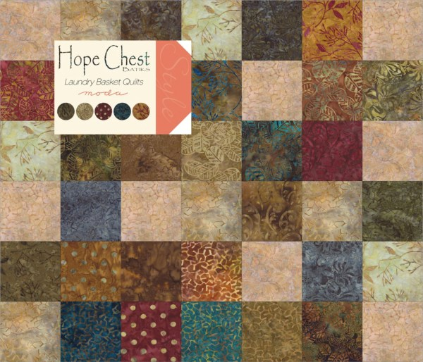 Hope Chest Batiks Charm Pack Moda Fabrics 40 5 Fabric