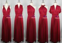 Infinity Bridesmaid Dresses Maroon