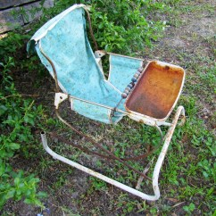 Retro High Chairs Babies Chrisanna Wingback Club Chair 1950s Vintage Baby Bouncer Seat