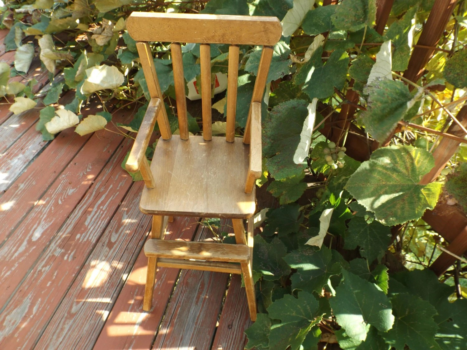 wood high chair for sale scooter accessories wooden doll photo prop furniture