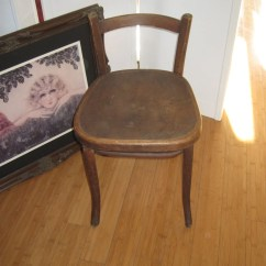 Vanity Chair With Back Public Seating Chairs Antique Bentwood Low Michael Thonet