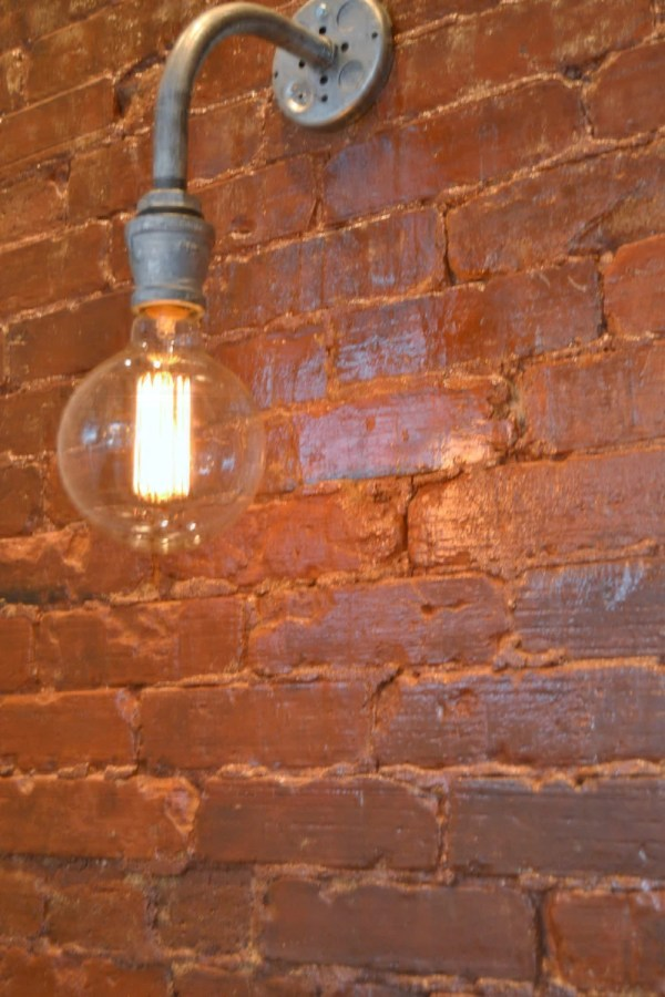 Steampunk Wall Light Industrial Sconce