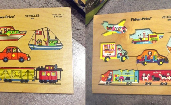 3 Wood Peg Puzzle Lot Great Condition Fisher Price Simplex
