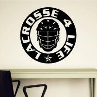 Lacrosse Wall Decal Removable Lacrosse Wall Sticker 22