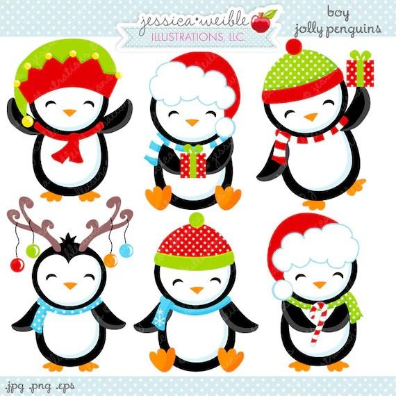 boy jolly penguins cute digital