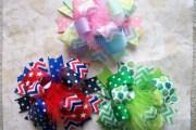 spring summer holiday hair bow