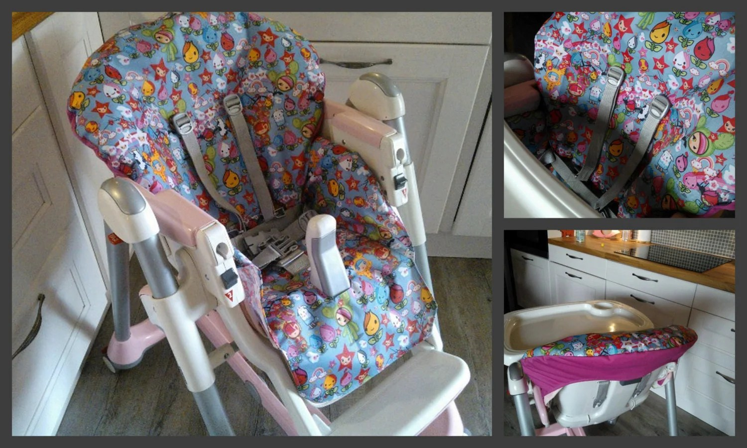 High Chair Covers Pdf Pattern Diy High Chair Cover Patron Et Tuto Pdf Housse