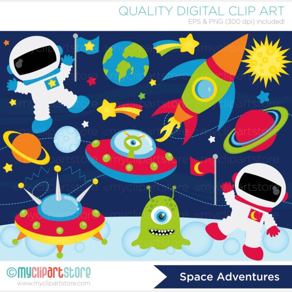 outer space planets clipart - pics