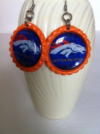 Denver Broncos Earrings Denver Broncos Womens by ...