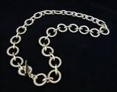 Gold Tone Coiled Loop Cha...