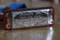 Vintage M. Hohner Trutone Pitch Pipe 1920's The by MoreysMusic