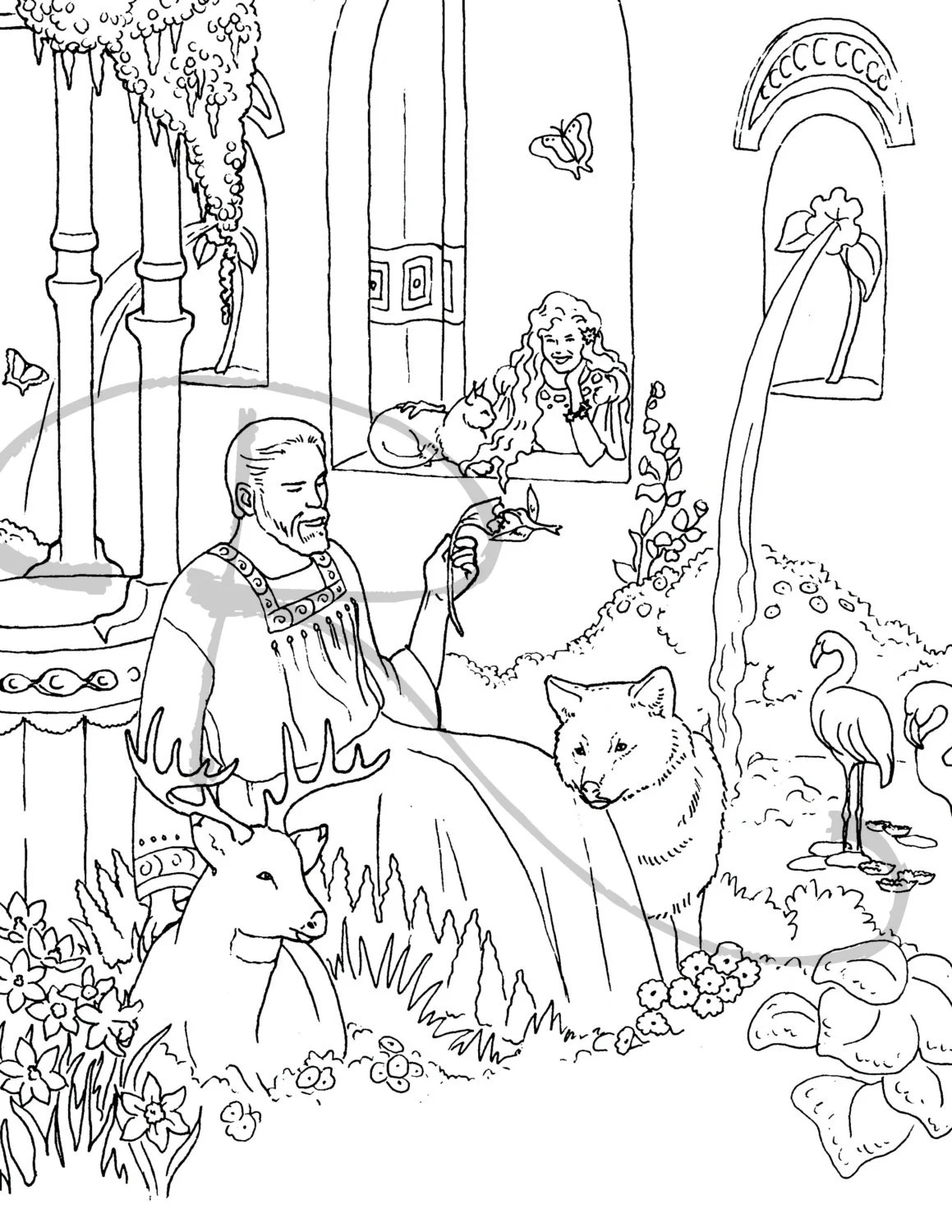 Stephen Bible Coloring Page Coloring Pages