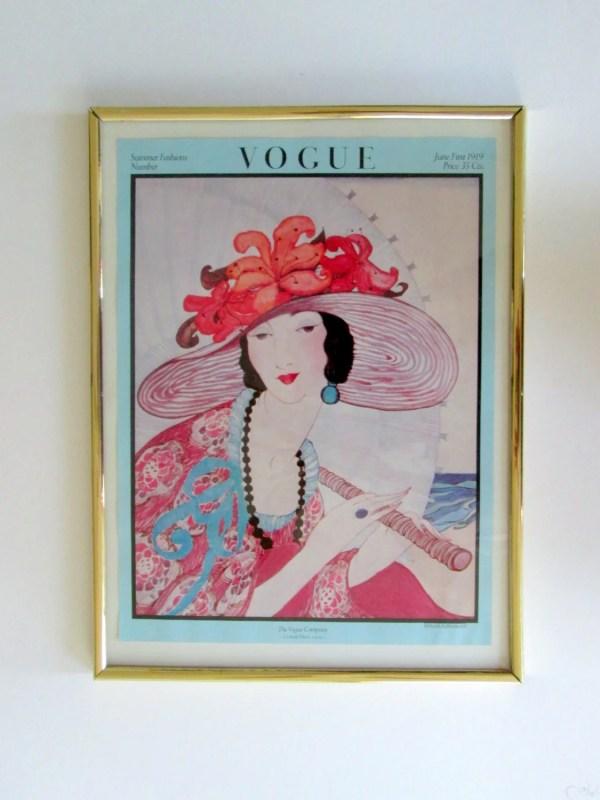 Vogue Magazine Cover Mirror