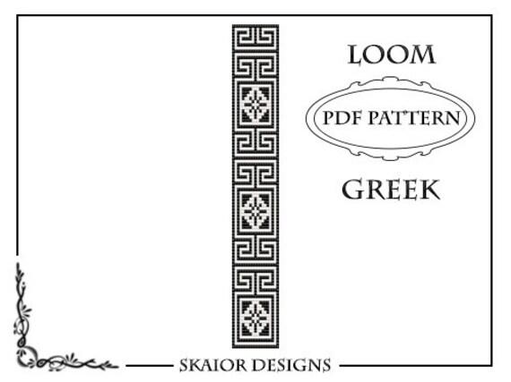 Loom Beading Pattern Loom Bracelet Geometric Seed Beads Wave