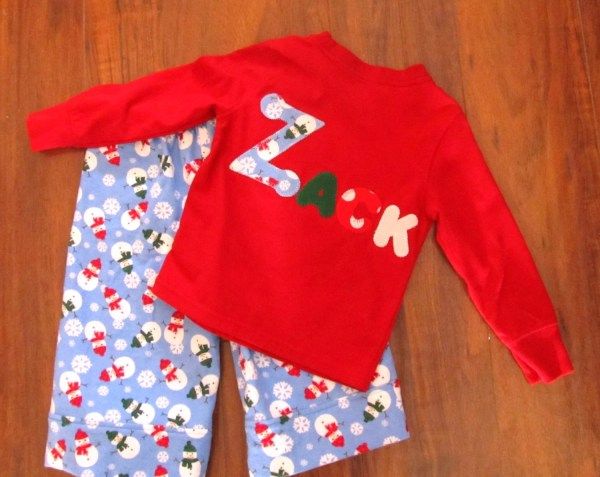 Boy' Snowman Flannel Pajamas Custom Size 2t