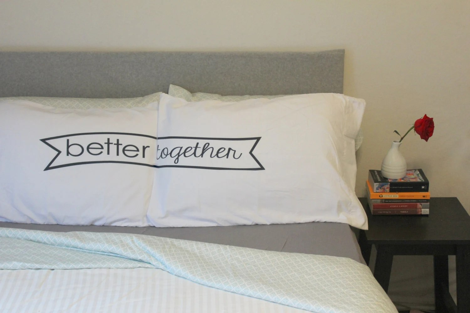 couples pillow cases Better Together Pillow Case Better
