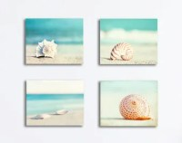 Seashell Wall Art - sea dreams seashell wooden wall art ...