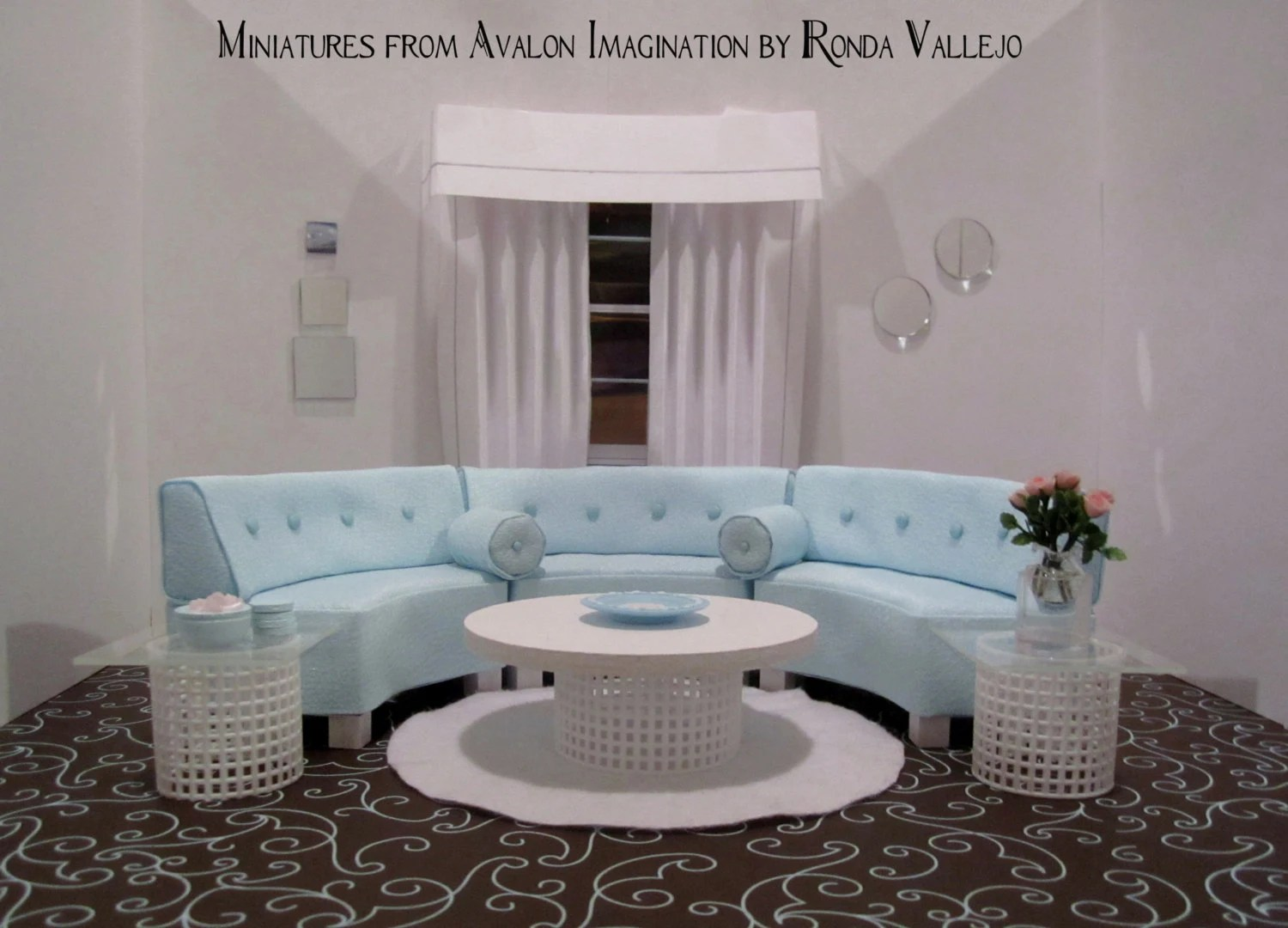 dollhouse miniature sectional sofa sofas with recliners for sale reserved page do not purchase 1 12th scale