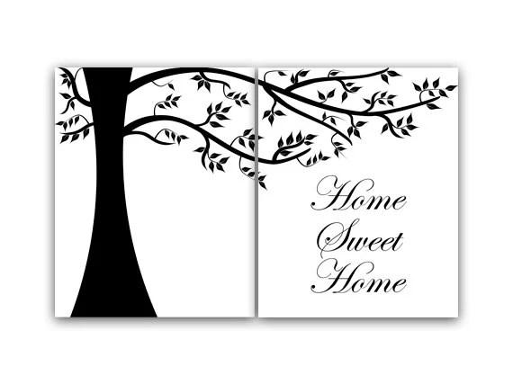 Living Room Wall Art, Home Decor Wall Art, Home Sweet Home