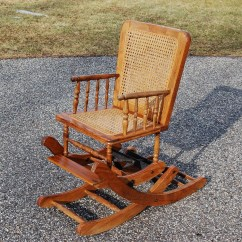 Antique Wooden Rocking Chairs Cheap Plastic Online Chair High Oak Caned Wicker