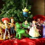 Toy Story Disney Christmas Ornament Set Woody Buzz Jessie