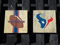 Houston Texans Wall Decor by VersesRusticDecor on Etsy