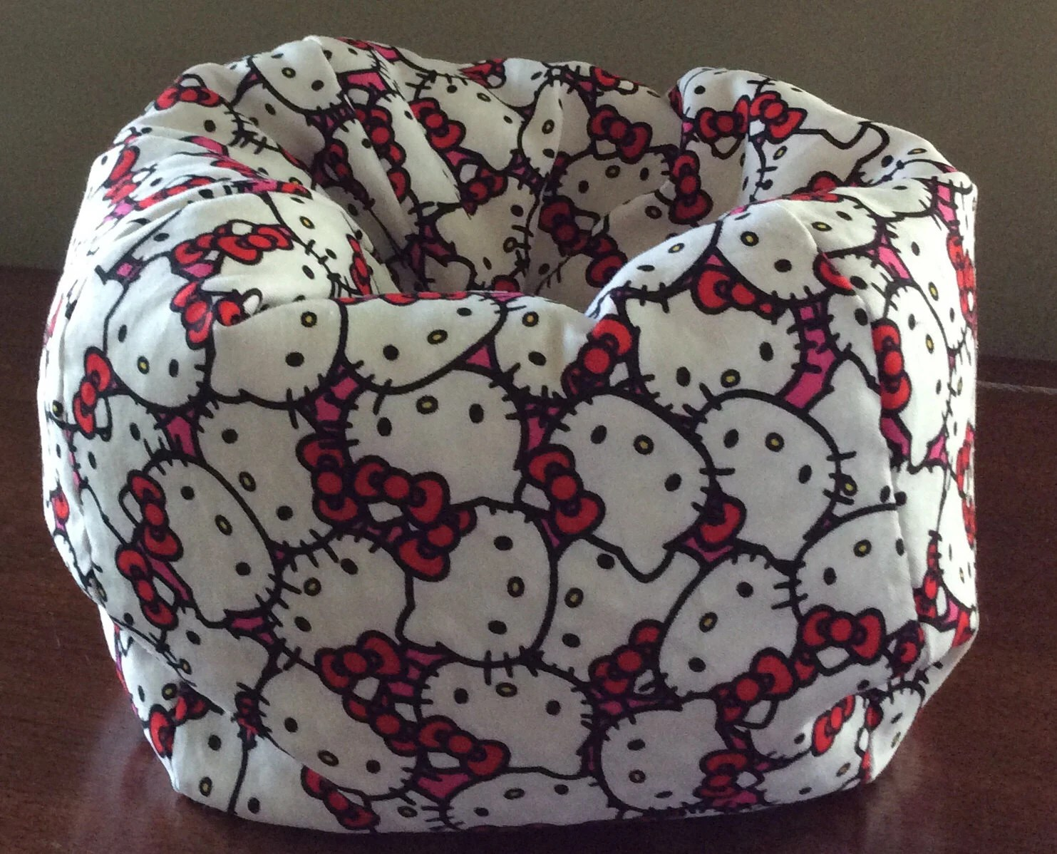hello kitty high chair that clips on table american doll or 18 bean bag