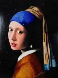 Vermeer-Lady With Pearl Earring 20x24
