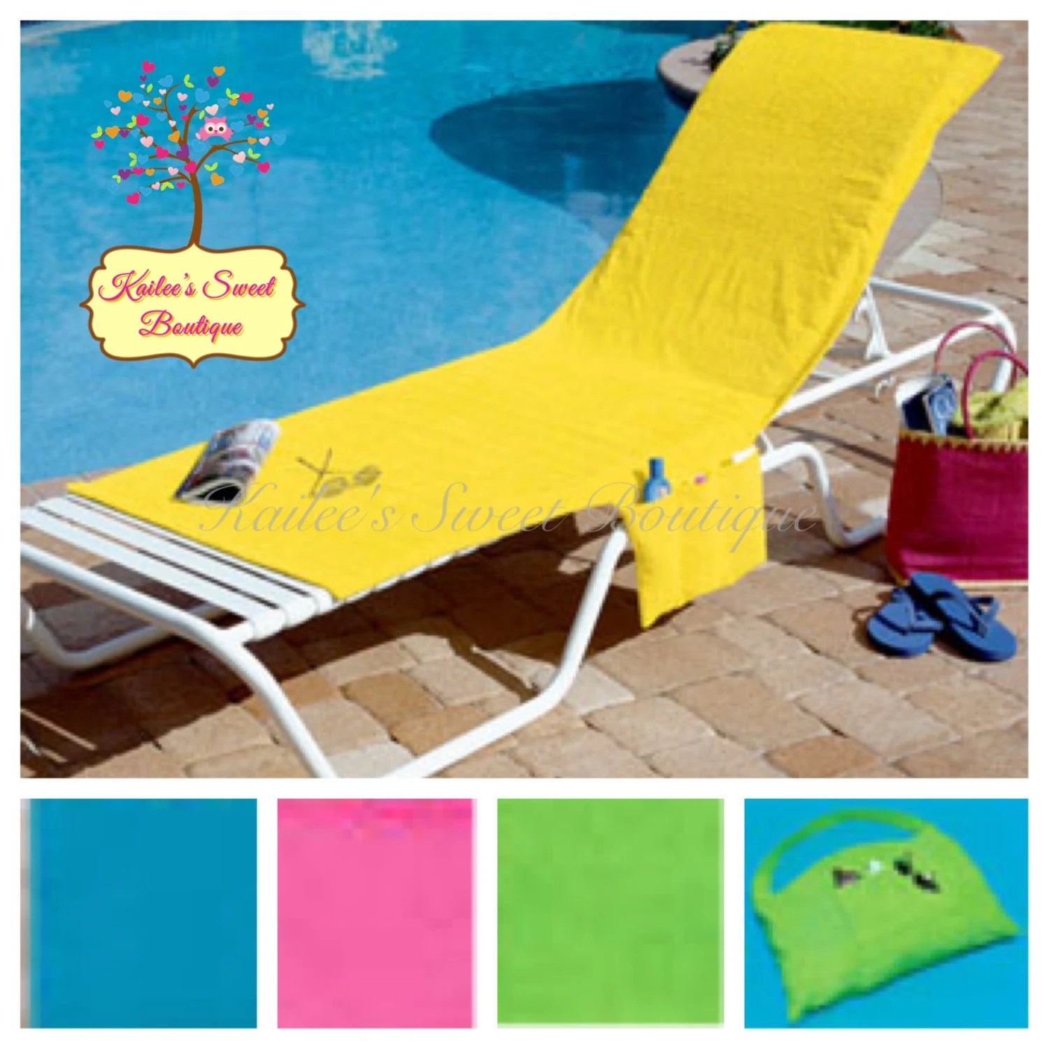 beach chair cover louis arm covers with pockets monogrammed perfect for