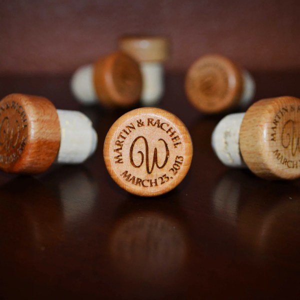 Wedding Wine Stopper Gift Personalized Wedding Favors