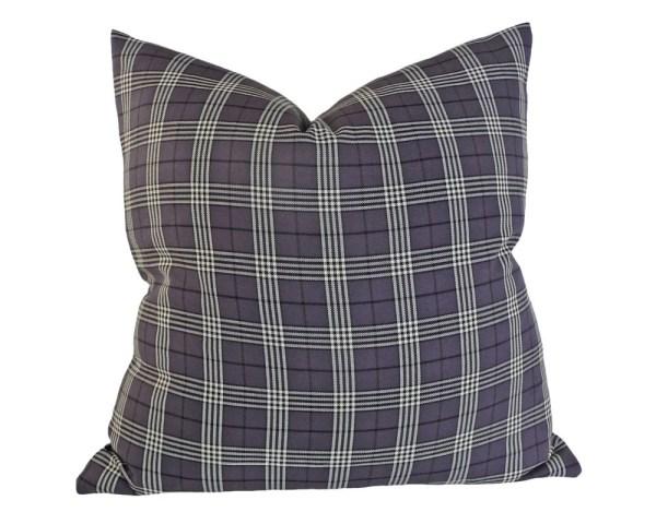 Grey Plaid Pillow Covers Tartan Pillows Throw